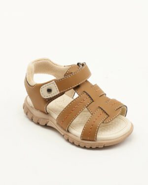 Sandales Bébé Garçon - Sandale Ouverte Camel Jina - Xdb701513