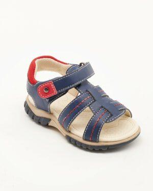 Sandales Bébé Garçon - Sandale Ouverte Marine Jina - Xdb701513