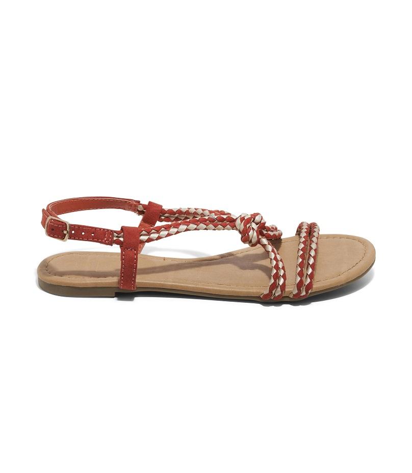 Sandales Plates Femme - Sandale Plate Whisky Jina - 8s0174