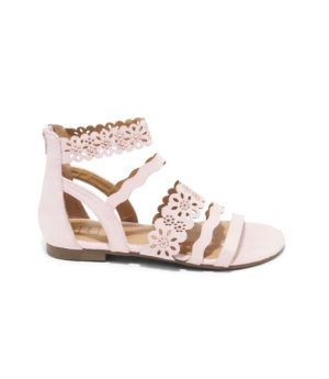 Sandales Plates Femme - Sandale Plate Rose Jina - Zh17073-130