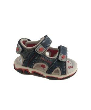 Sandales Bébé Garçon - Sandale Ouverte Denim Jina - Xdb7027-700617c