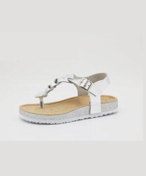 Sandales Fille - Sandale Ouverte Argent Jina - E02rgr0311