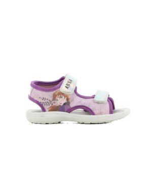 Sandales Fille - Sandale Ouverte Lilas La Reine Des Neiges - Fr000310