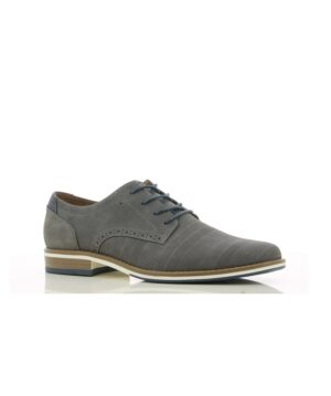 Chaussures De Ville Homme - Ville Gris Jina - 493442