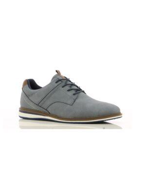 Chaussures De Ville Homme - Sneakers Gris Jina - 494492