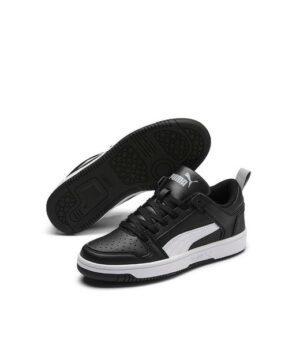 Baskets Garçon - Skate Noir Puma - 370490 02 Rebound Layup