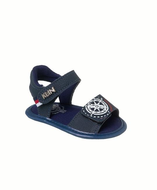 Sandales Bébé Garçon - Sandale Ouverte Marine Jina - 208343000-000025