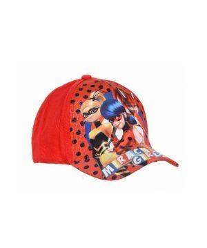Casquettes Fille - Casquette Rouge Ladybug - Et4149