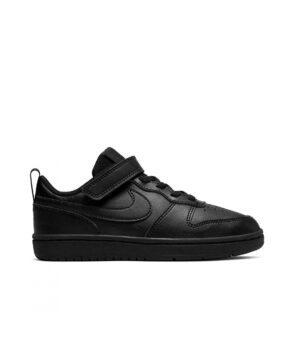 Baskets Garçon - Basket Noir Nike - Bq5451 Nike Court Borough