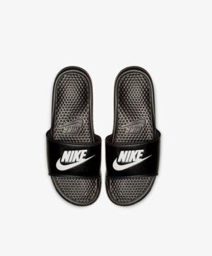 Tongs Homme - Tong Noir Nike - 343800/880 Nike Benassi