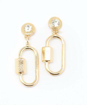 Bijoux Femme - Boucle D'Oreille Or Jina - Bo90742