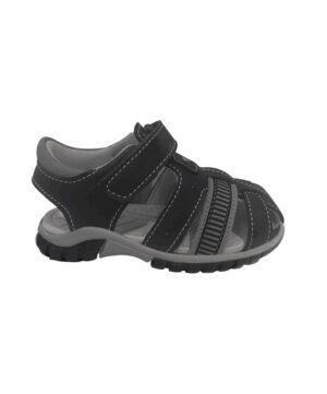 Sandales Bébé Garçon - Sandale Fermee Noir Jina - Xdb700111 Velcro