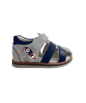 Sandales Bébé Garçon - Bottillon Ferme Gris Jina - Xdb90388a