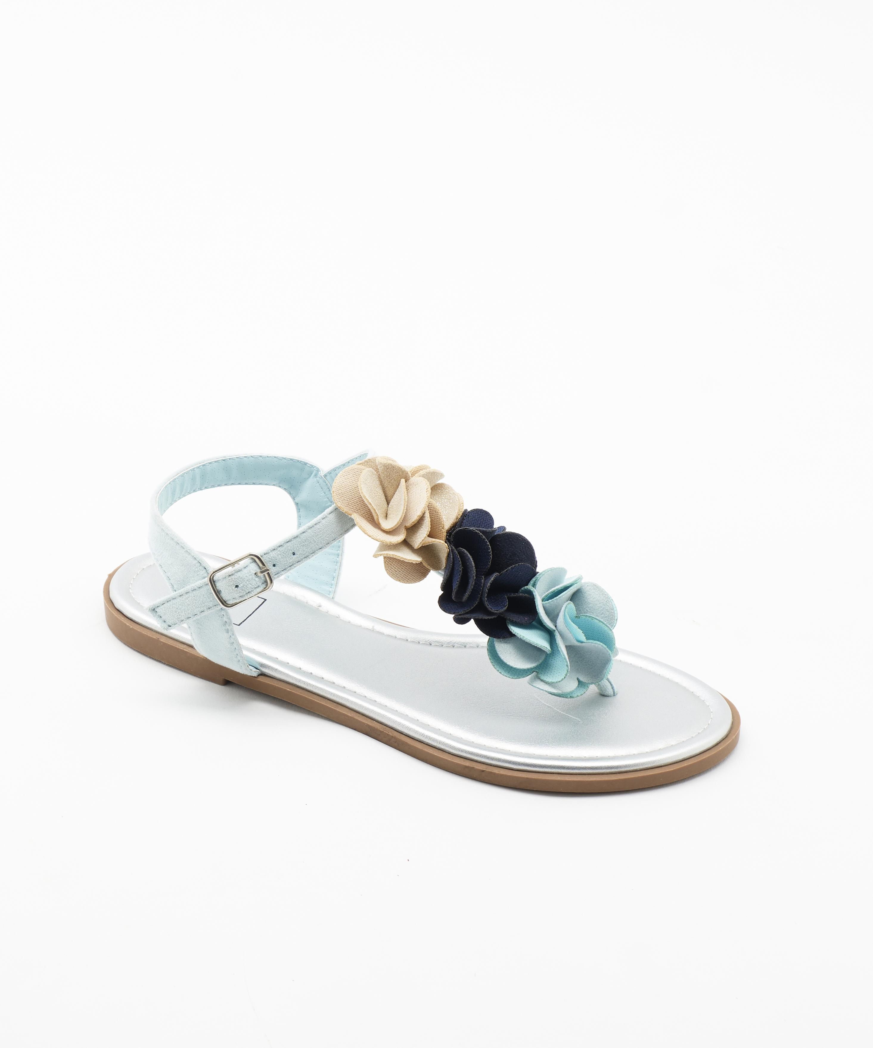 Sandales Fille - Sandale Ouverte Marine Jina - Style 6