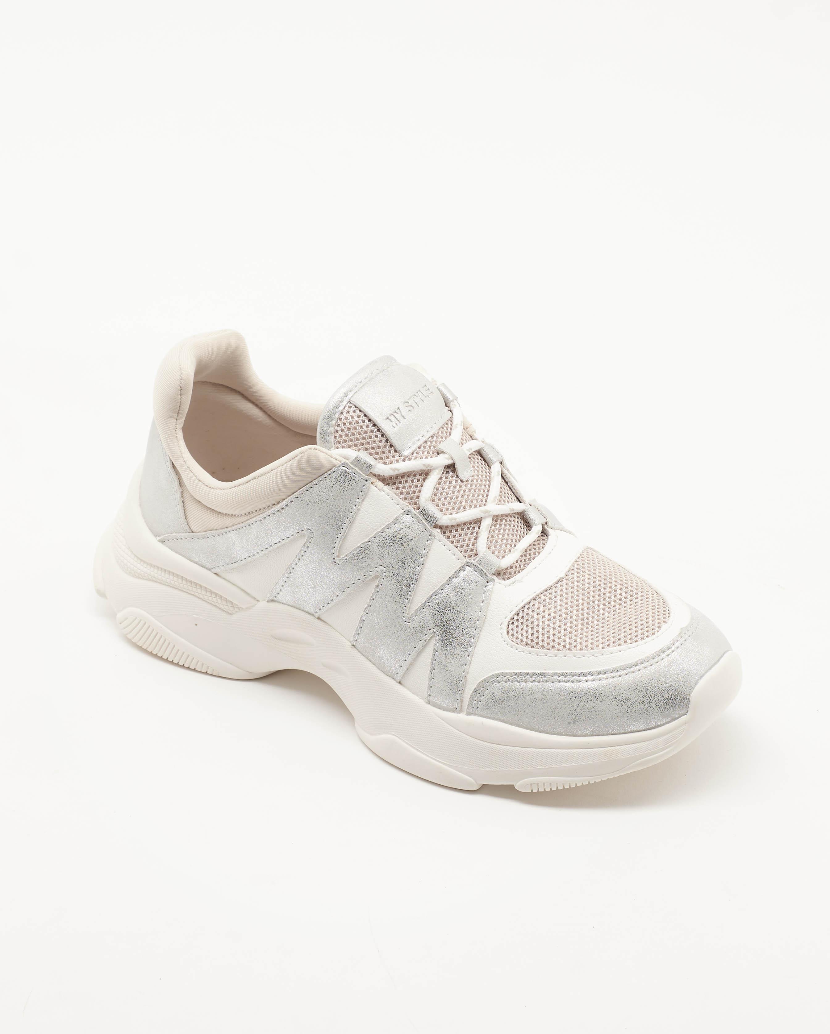 Baskets Femme - Basket Blanc Jina - 499531