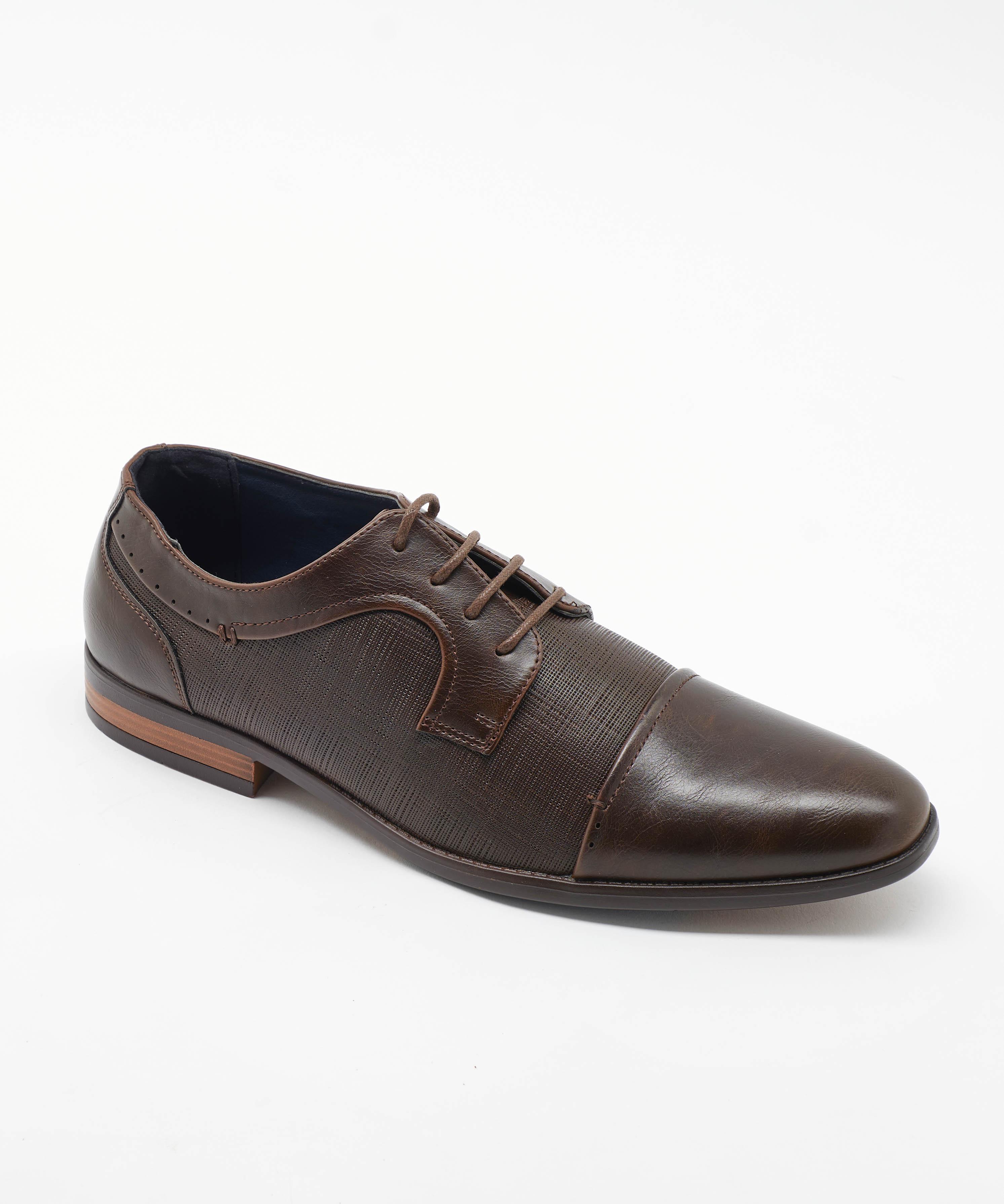 Chaussures De Ville Homme - Ville Marron Jina - Tj-2982