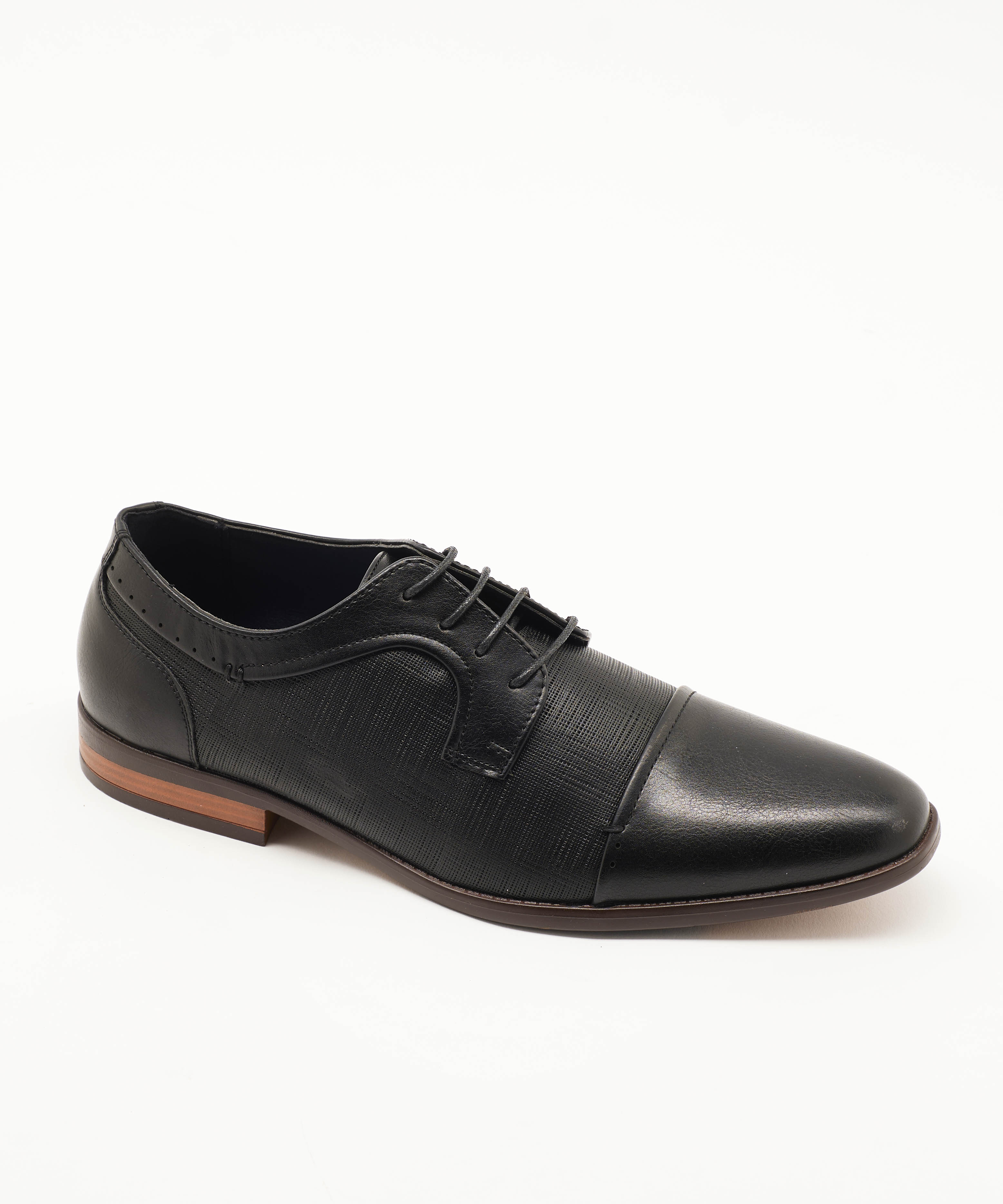 Chaussures De Ville Homme - Ville Noir Jina - Tj-2982