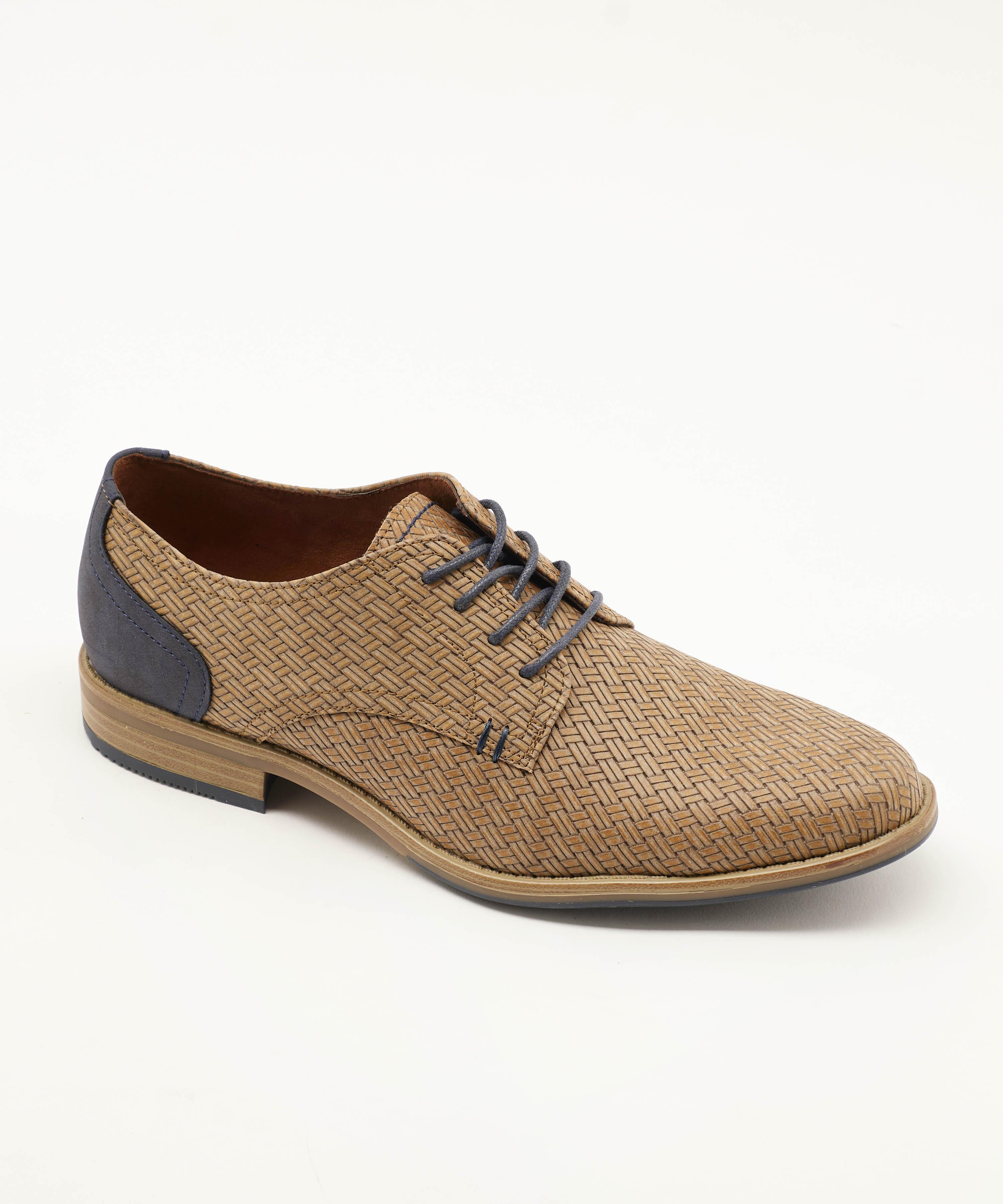 Chaussures De Ville Homme - Ville Taupe Jina - 459622