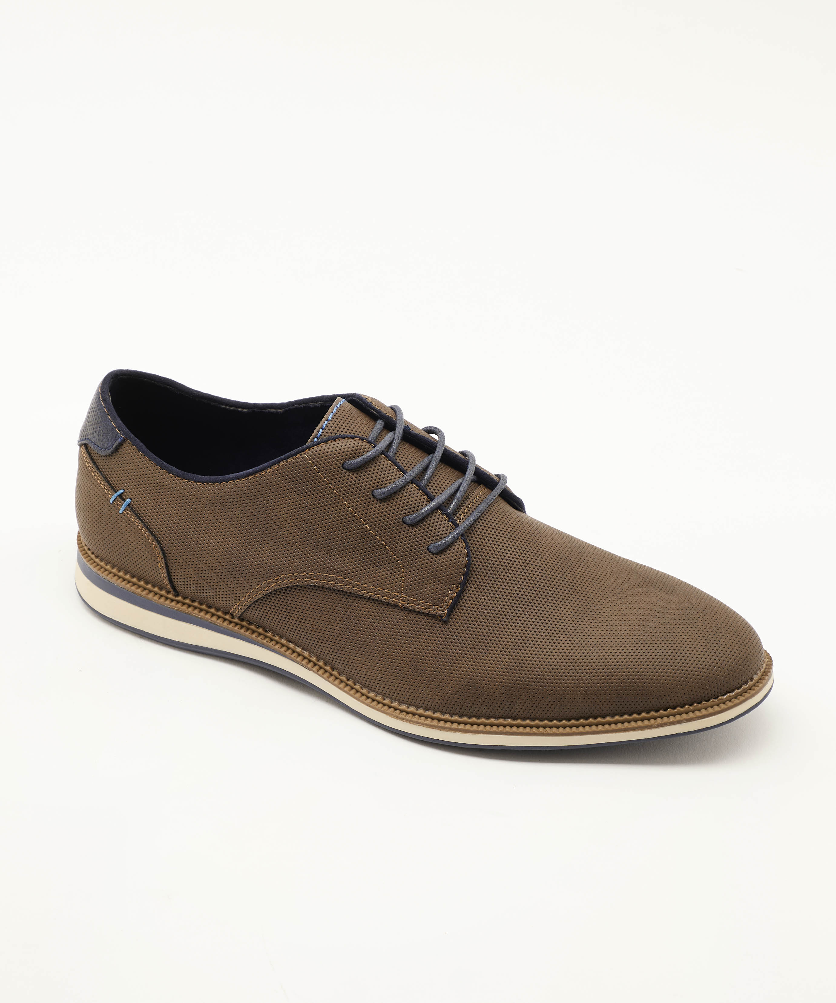 Chaussures De Ville Homme - Sneakers Taupe Jina - 492022