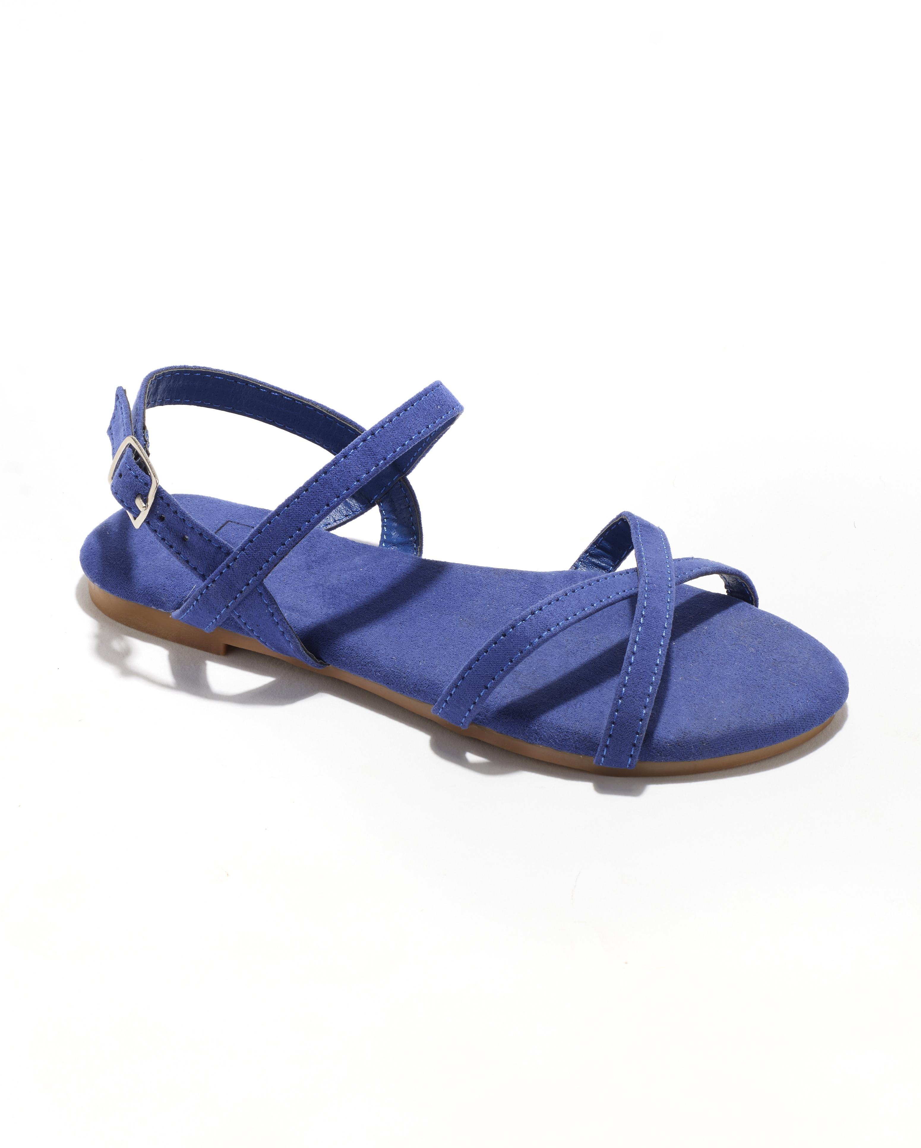 Sandales Fille - Sandale Ouverte Bleu Jina - Sapl Zh3