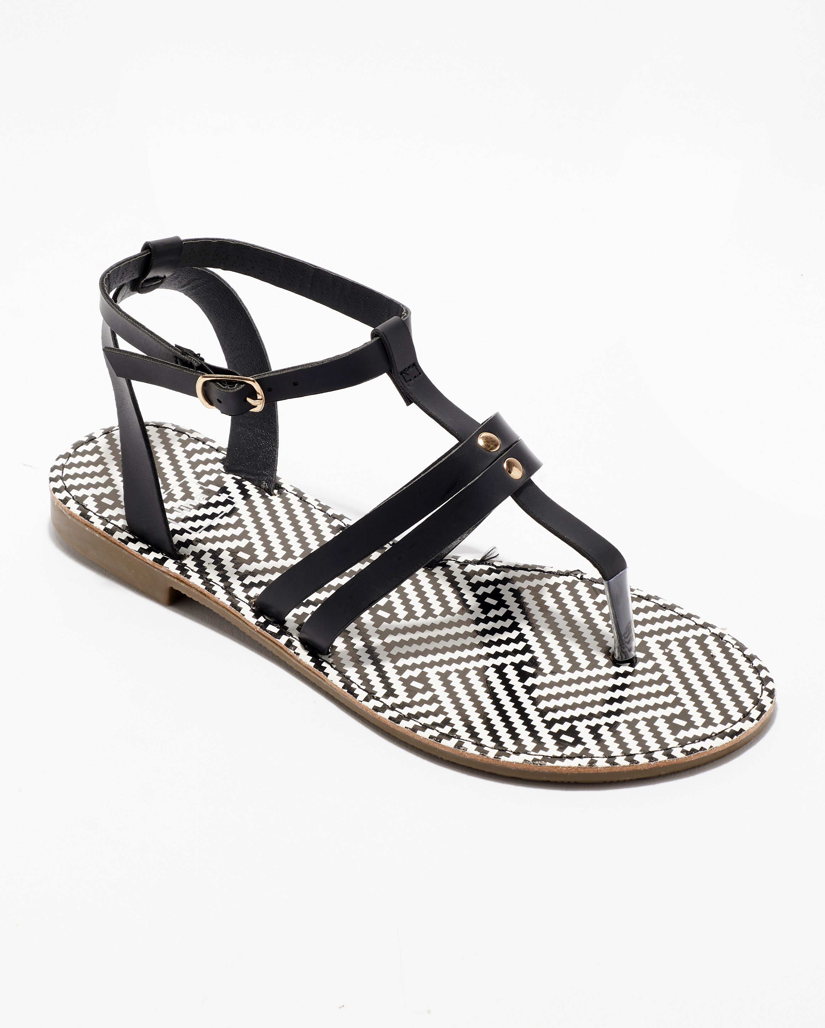 Sandales Fille - Sandale Ouverte Noir Jina - Sapl Zh4