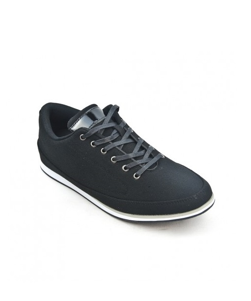 Chaussures De Ville Homme - Sneakers Noir Jina - U2111-12
