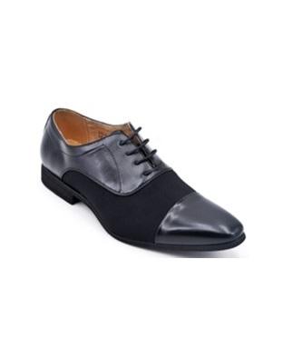 Chaussures De Ville Homme - Ville Noir Jina - U558-91