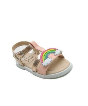 Sandales Bébé Fille - Sandale Ouverte Corail Jina - Ydx0363q-4