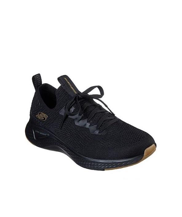 Baskets Homme - Basket Noir Skechers - Solar Fuse 52757