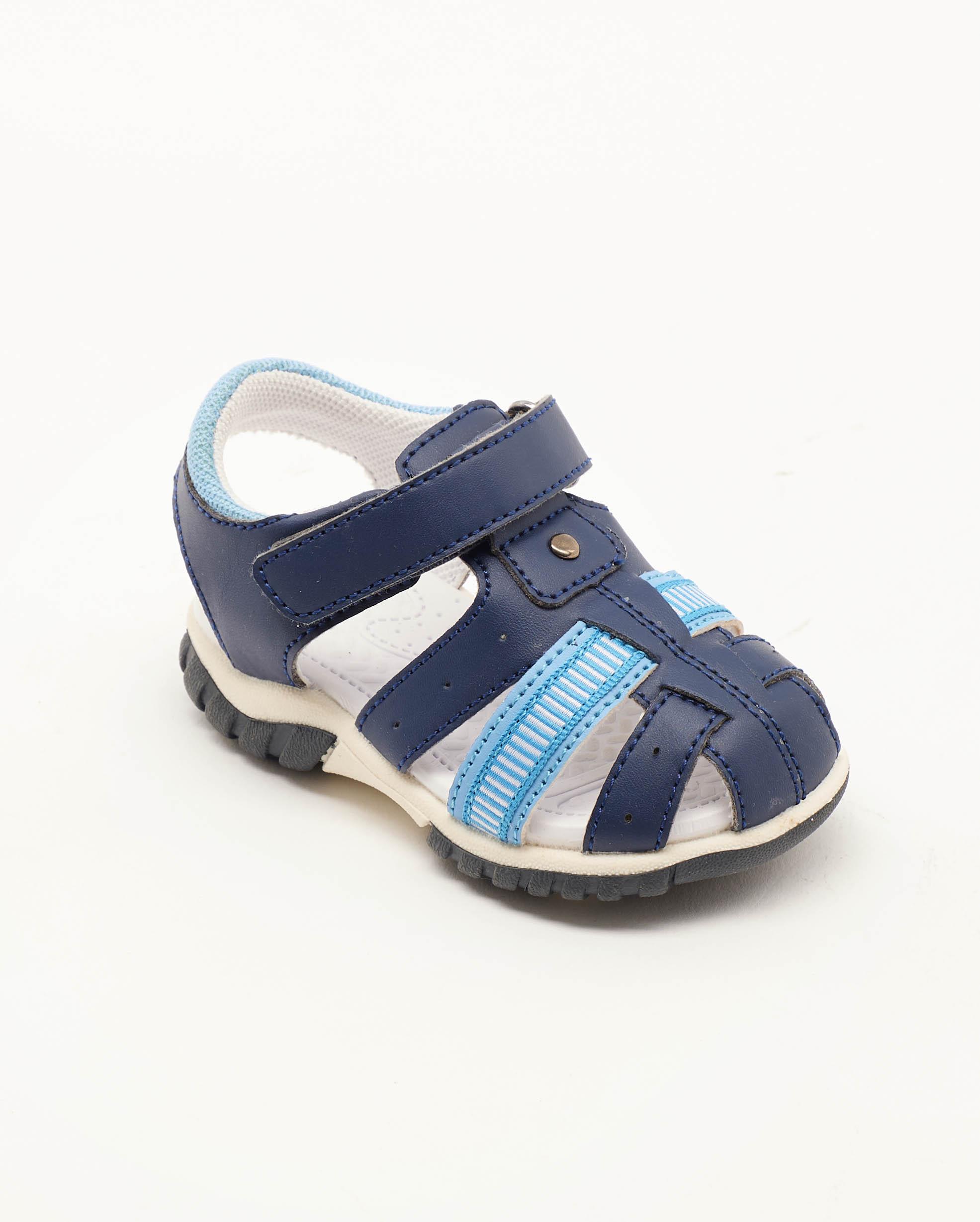 Sandales Bébé Garçon - Sandale Ouverte Marine Jina - Xdb01-700111