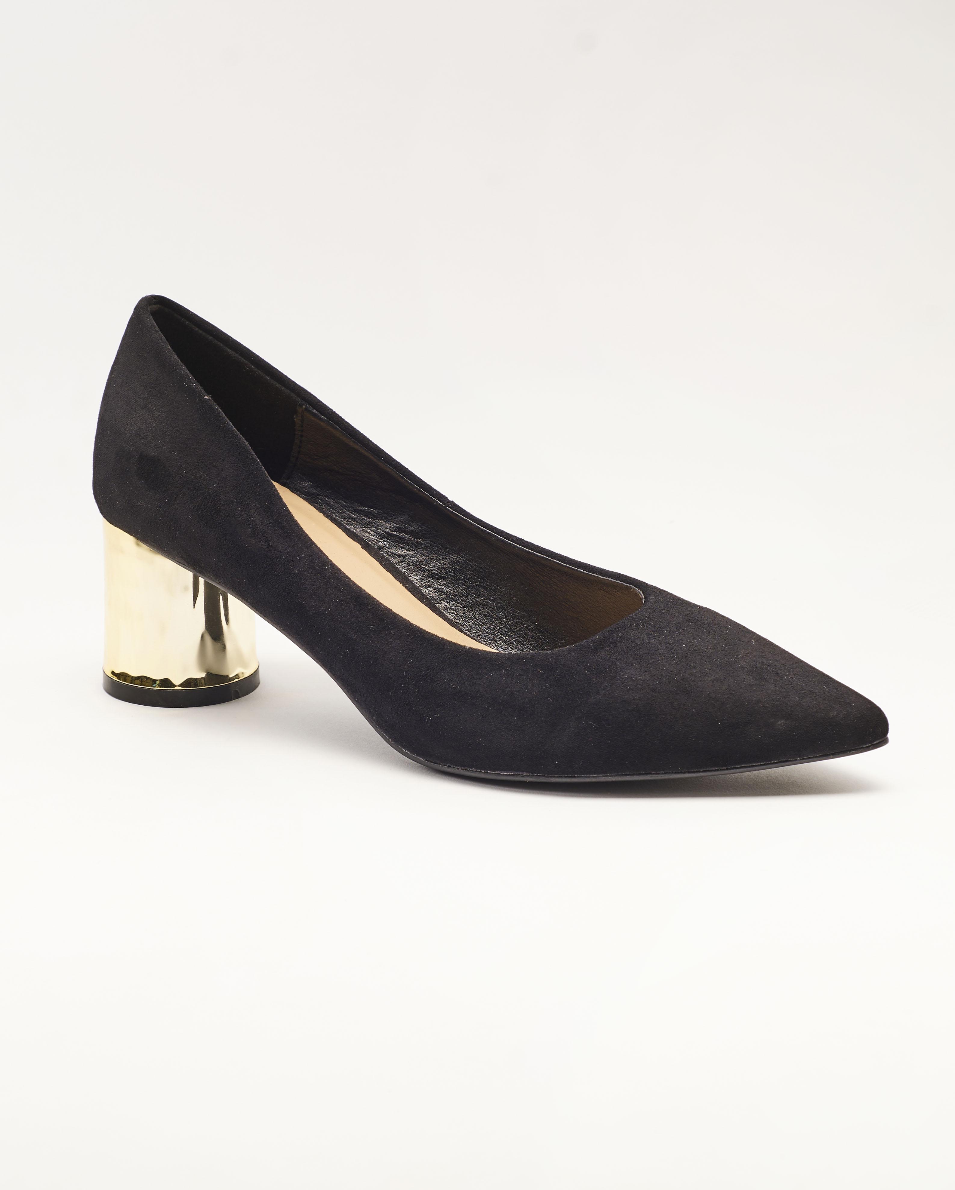 Escarpins Femme - Escarpin Ferme Noir Jina - M19p1508-01