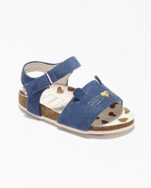 Sandales Bébé Fille - Sandale Ouverte Marine Jina - Ydxls029-Jn2