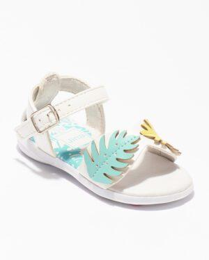 Sandales Bébé Fille - Sandale Ouverte Blanc Jina - Ydx0253-Jn1