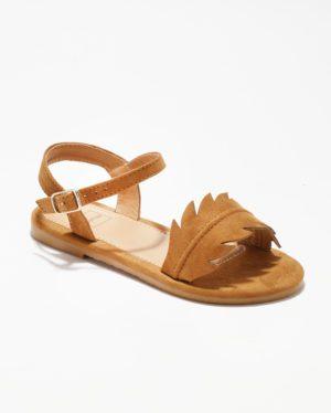 Sandales Fille - Sandale Ouverte Camel Jina - Ydxls23-Jn Jf