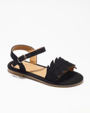 Sandales Fille - Sandale Ouverte Noir Jina - Ydxls23-Jn Jf