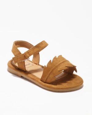 Sandales Fille - Sandale Ouverte Camel Jina - Ydxls23-Jn Ef