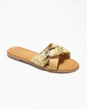 Mules Femme - Mule Plate Camel Jina - Style 4 Zh 2021