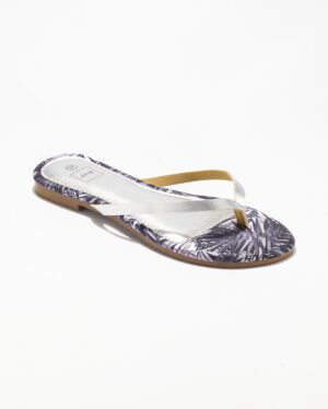 Mules Femme - Mule Plate Argent Jina - Style 5 Zh 2021