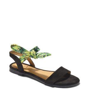 Sandales Plates Femme - Sandale Plate Noir Jina - Style 1 Zh 2021