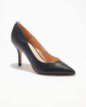 Escarpins Femme - Escarpin Ferme Noir Jina - Mgc66-H02a