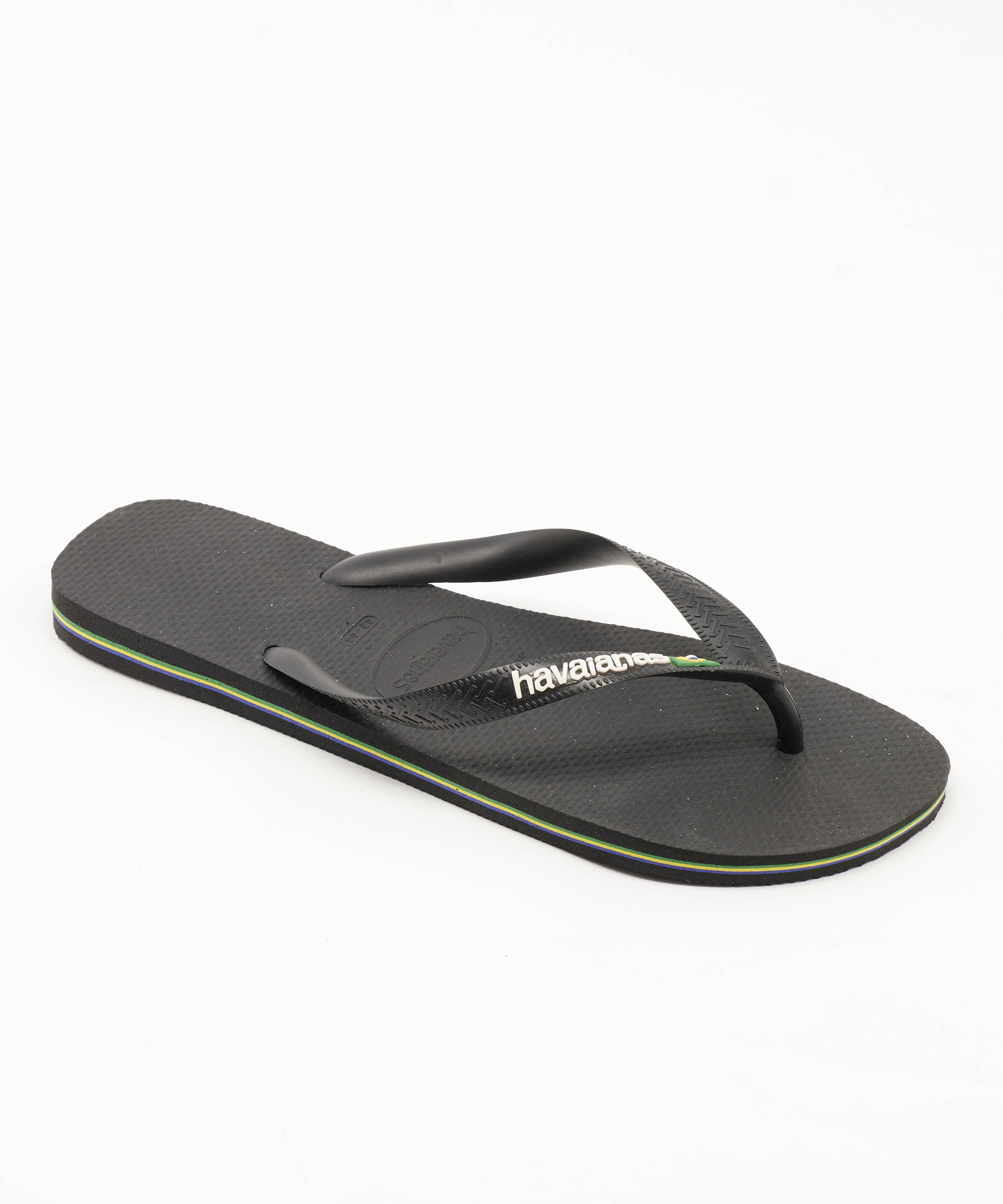 Tongs Homme - Tong Noir Havaianas - 4110850-1069