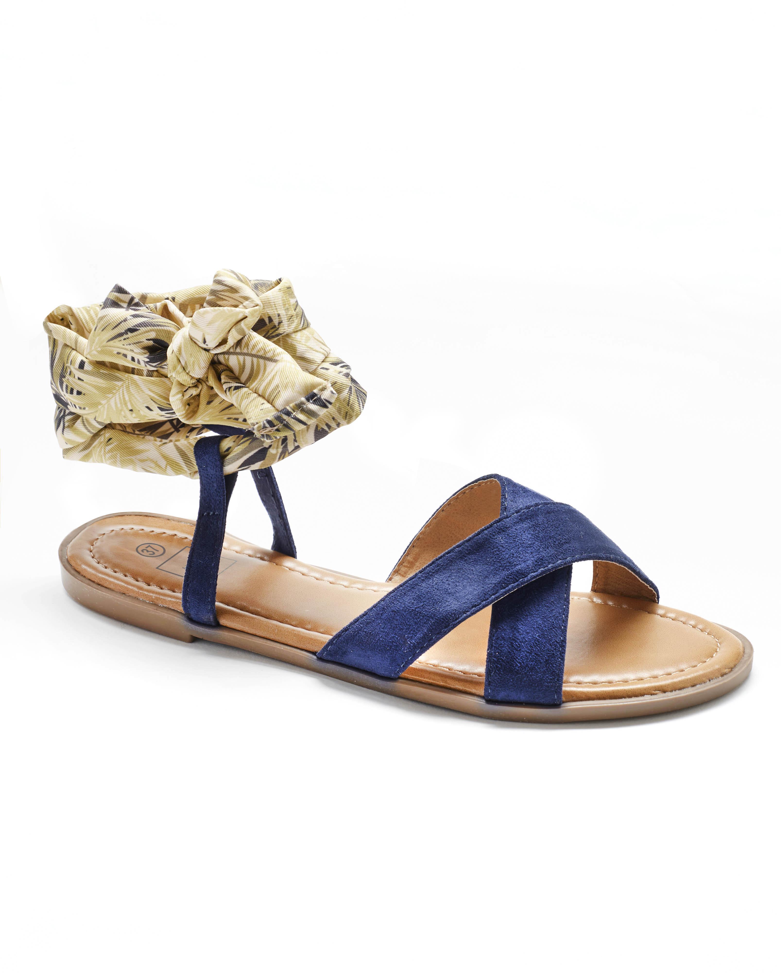 Sandales Plates Femme - Sandale Plate Marine Jina - Style 2 Zh 2021