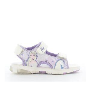 Sandales Fille - Sandale Ouverte Lilas La Reine Des Neiges - Fr002705