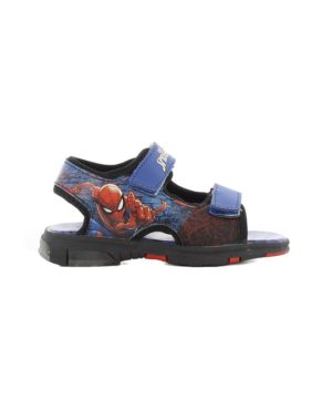 Sandales Garçon - Sandale Ouverte Bleu Spiderman - Sp008599