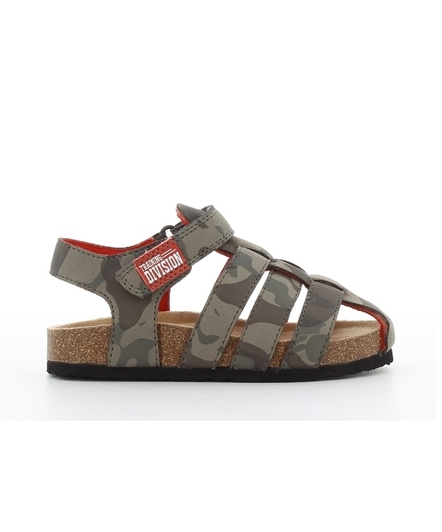 Sandales Garçon - Sandale Fermee Camouflage Jina - 531302