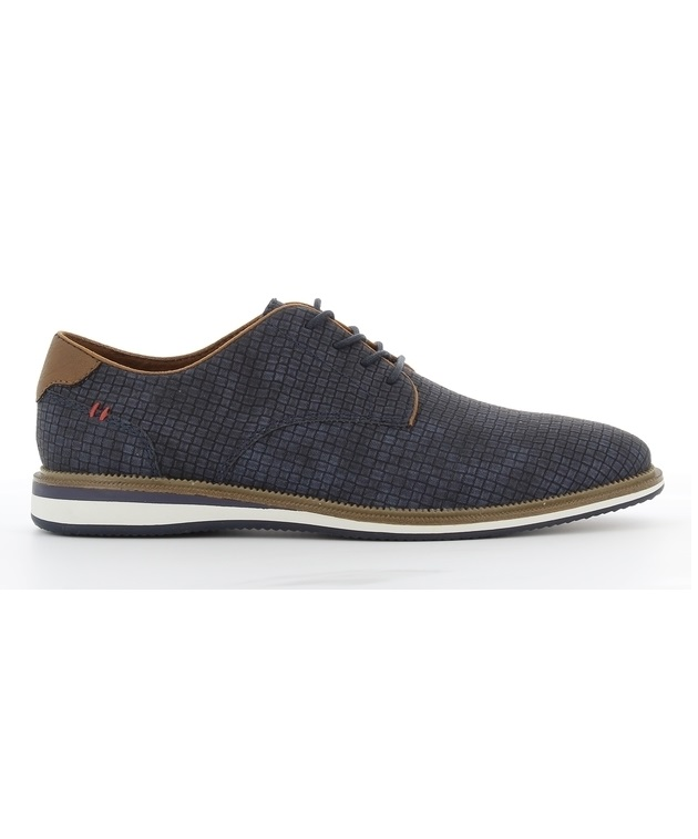 Chaussures De Ville Homme - Sneakers Marine Jina - 530182