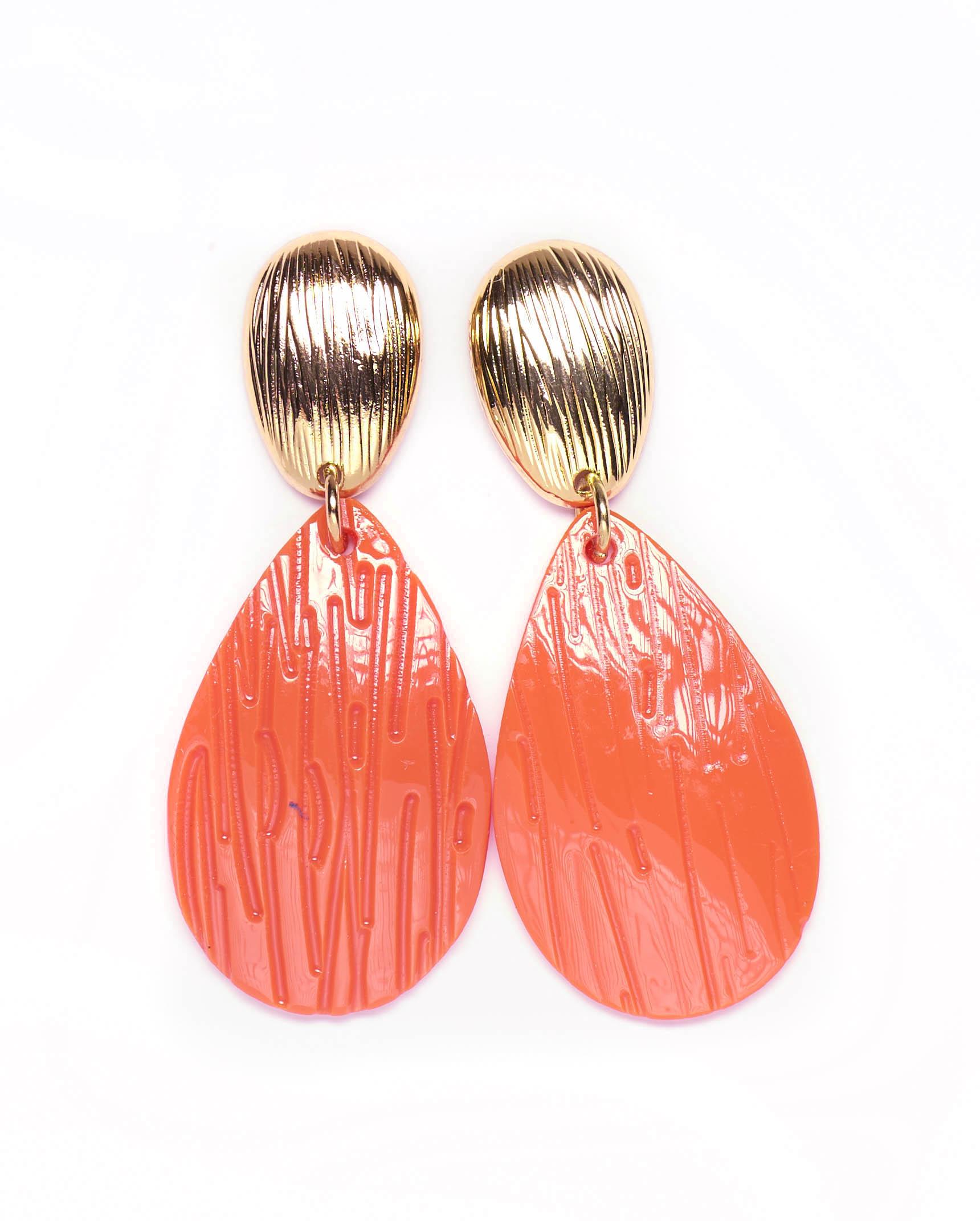 Bijoux Femme - Boucle D'Oreille Corail Jina - 36286