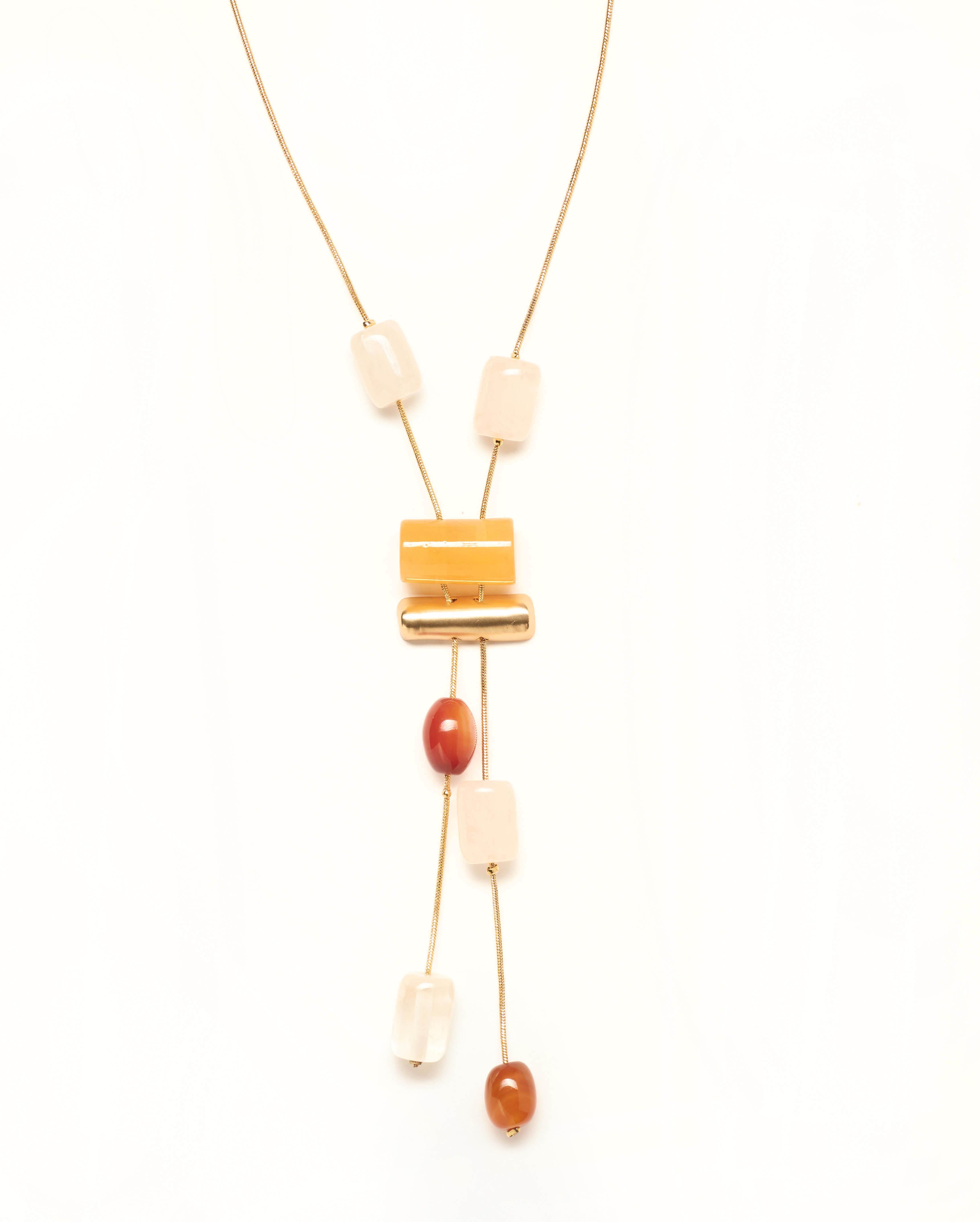 Bijoux Femme - Sautoir Or Jina - 36233
