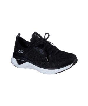 Baskets Femme - Basket Noir Skechers - 13325 Solar Fuse