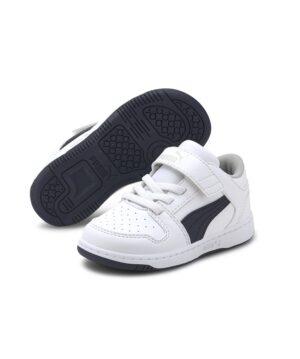 Baskets Garçon - Skate Blanc Puma - 370493 Rebound Layup Lo Sl